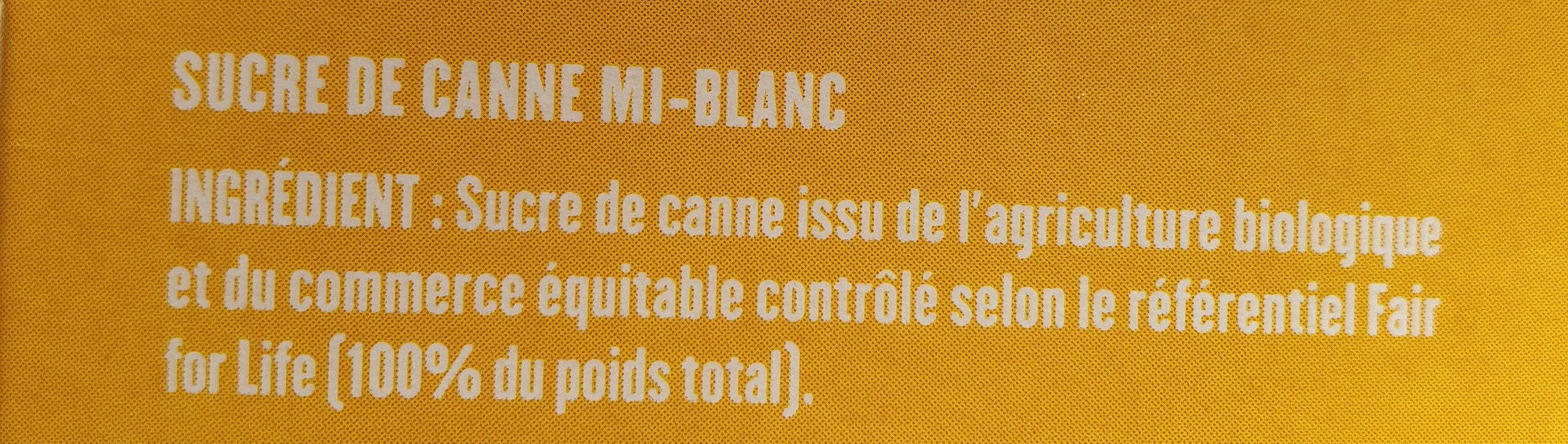 Sucre Blond en morceaux - Ingrédients - fr