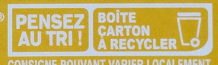 Sucre Blond en morceaux - Instruction de recyclage et/ou informations d'emballage - fr