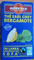 Thé Earl Grey bergamote - Product - fr