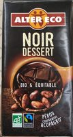 Tablette chocolat Noir dessert - Product - fr