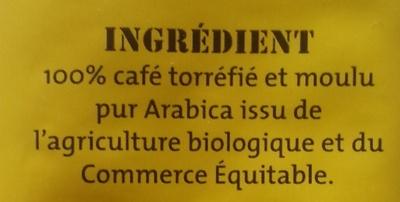 Pur arabica Mexique Doux & équilibré - Ingrediënten - fr