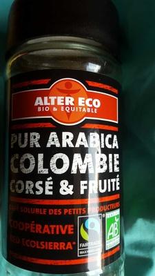 Pur Arabica Colombie - Produit - fr