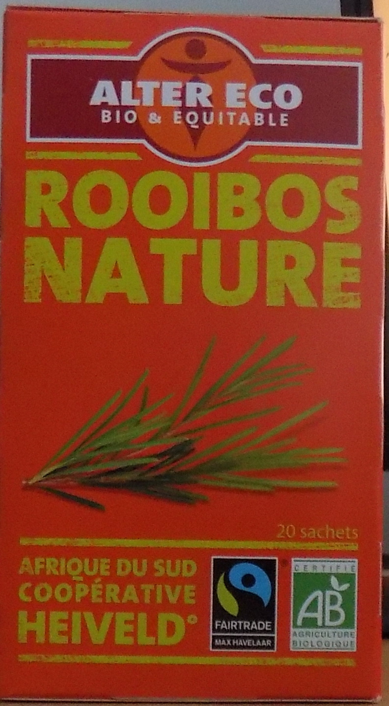 Rooibos nature bio & équitable - Product