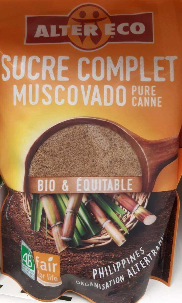 Sucre complet  pure canne  muscovada - Product - fr