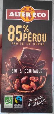 85% Pérou Fruité et Corsé - Produit - fr