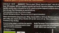 85% Pérou Fruité et Corsé - Voedingswaarden - fr
