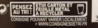 85% Pérou Fruité et Corsé - Instruction de recyclage et/ou information d'emballage - fr