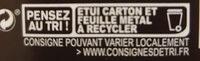 85% Pérou Fruité et Corsé - Istruzioni per il riciclaggio e/o informazioni sull'imballaggio - fr