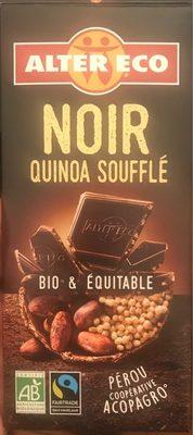Chocolat Noir quinoa soufflé Bio - Product