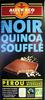 Chocolat Noir quinoa soufflé Bio Alter Eco - Produit