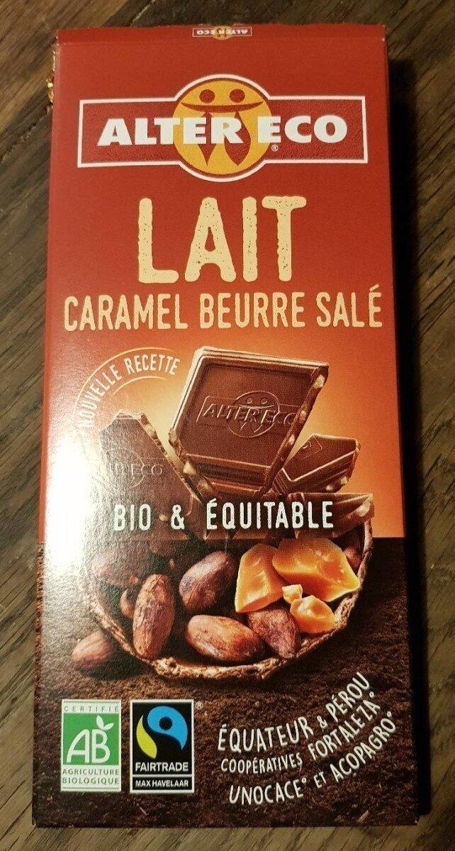 Lait caramel beurre salé - Product - fr