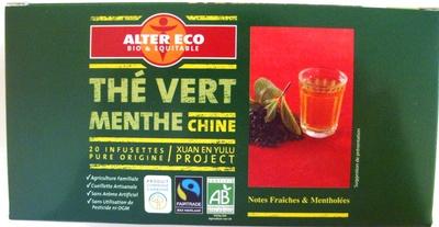 Thé vert Menthe - Product - fr