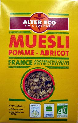 Muesli pomme-abricot Bio et Equitable Alter Eco - Produit - fr