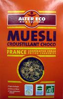 Muesli croustillant choco bio Alter Eco - Produit - fr
