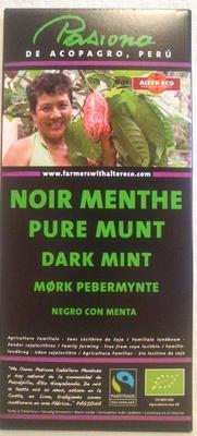 Noir Menthe - Produit