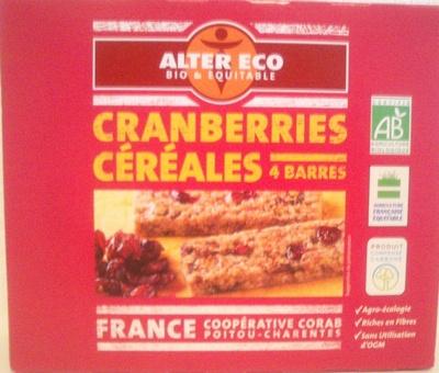 Cranberries Céréales - Produit - fr