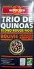 Trio de quinoas blond rouge noir Bio et Ethiquable Alter Eco - Producto