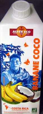 Banane coco Alter Eco - Product - fr