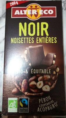 Noir et noisettes entières - Produit - fr