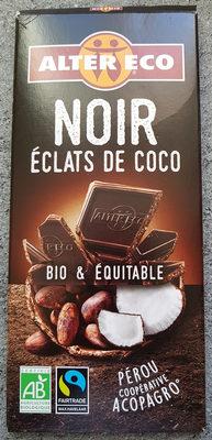 Chocolat Noir éclats De Coco - Product - fr