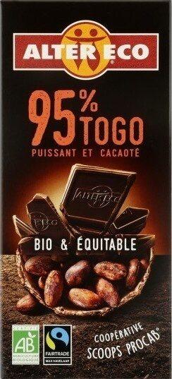 Chocolat noir 95% - Prodotto - fr