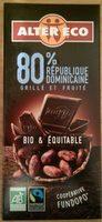 République Dominicaine 80% - Product