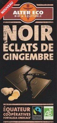 Noir Éclats de Gingembre - Produit - fr