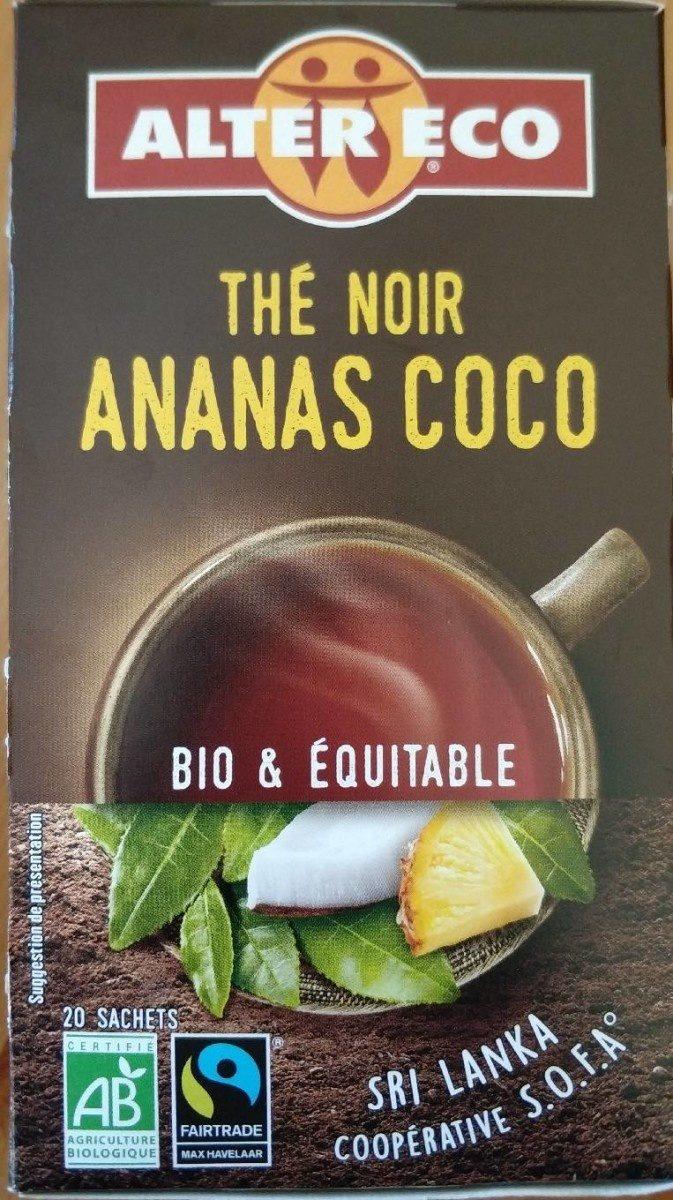 Thé noir Ananas Noix de coco - Product - fr