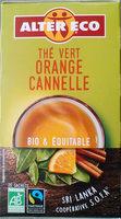 Thé vert Orange Cannelle - Product