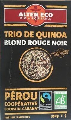 Trio de Quinoa blond rouge noir - Prodotto - fr