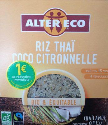 RIZ THAI COCO CITRONELLE - Prodotto - fr