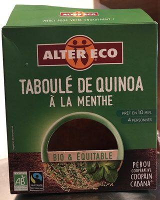 Taboulé de quinoa à la menthe - Produit - fr