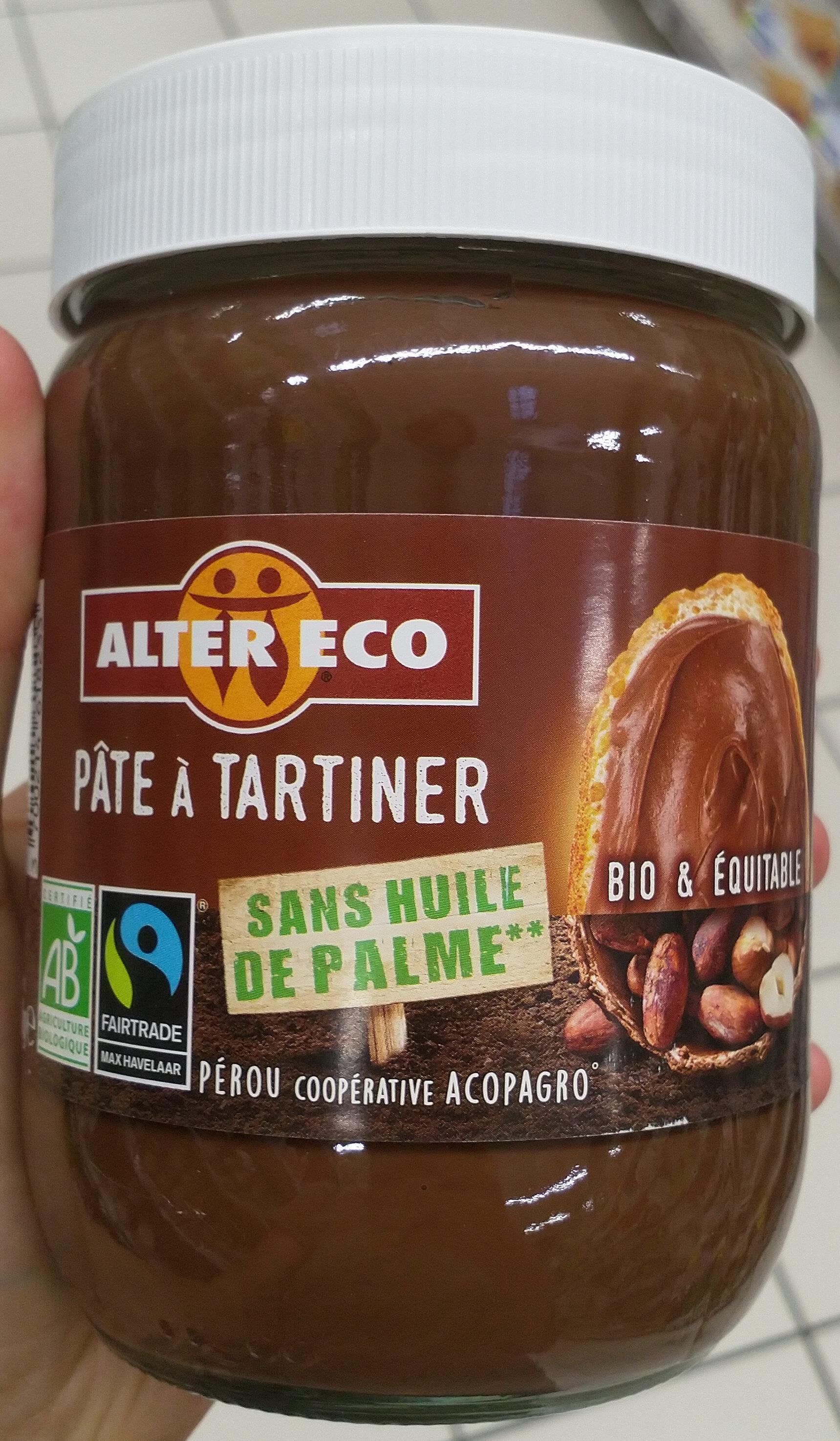 Pâte à tartiner sans huile de palme - BIO & ÉQUITABLE - Product - fr