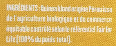 Quinoa - Ingrediënten - fr