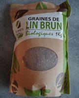 Graines de lin brun - Produit - fr