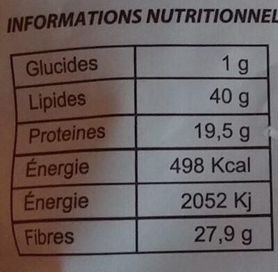 Graines de lin brun - Ingrédients - fr