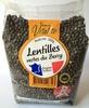 Lentilles vertes du Berry - Produit