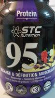 Pure Premium Protein 95 Vanille - 750GR - STC Nutrition - Produit