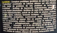 Pure Premium Protein 95 Vanille - 750GR - STC Nutrition - Ingrédients