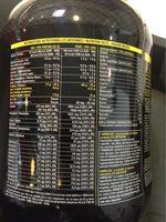 Pure Premium Protein 95 Vanille - 750GR - STC Nutrition - Informations nutritionnelles