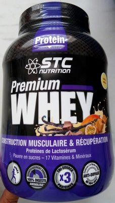 Whey Pure Premium Protein Vanille - 750GR - STC Nutrition - Produit - fr