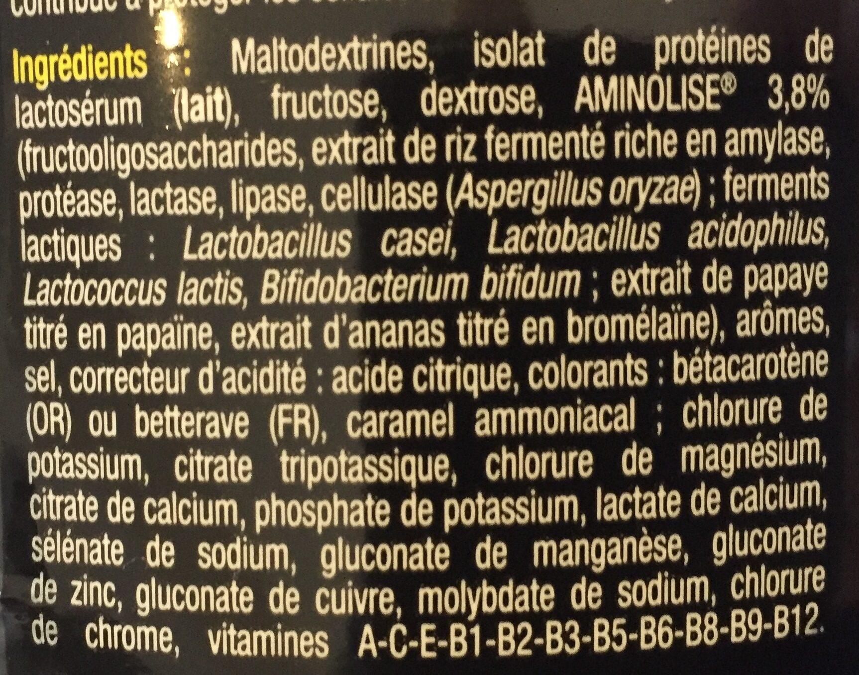 VO2 MAX Fruits Rouges - 525GR - STC Nutrition - Ingrédients