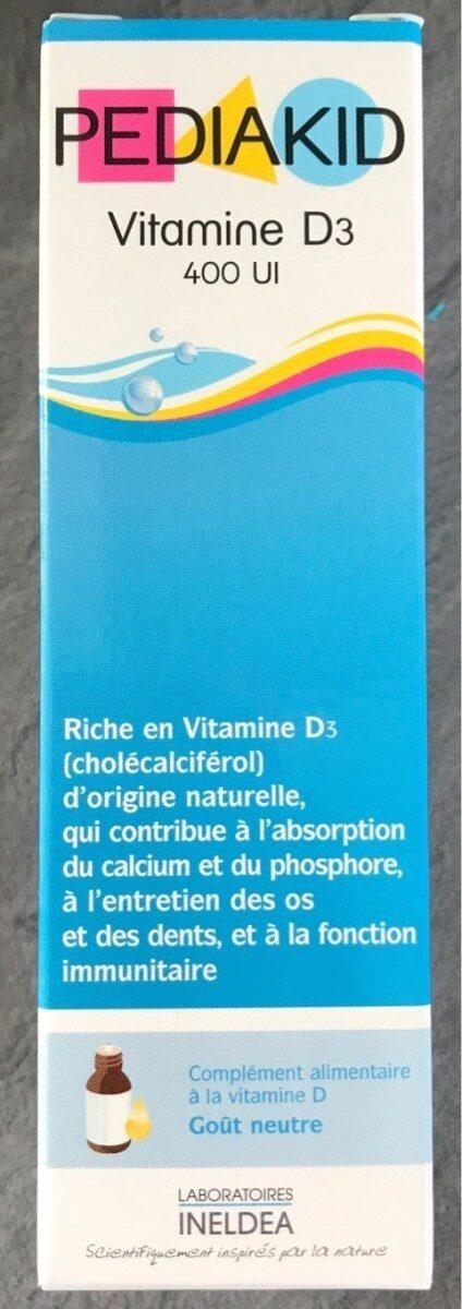 Vitamine D3 400 UI - Produit - fr