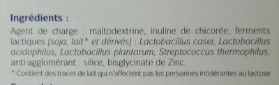 Probiotiques 10M - Ingredienti - fr