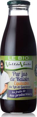 Pur jus de Raisin du Lot-et-Garonne Bio Equitable - Product - fr