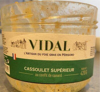 Cassoulet Supérieur au confit de canard - Product - fr