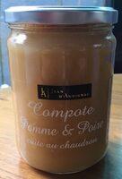 Compote Pomme & poire - Produit