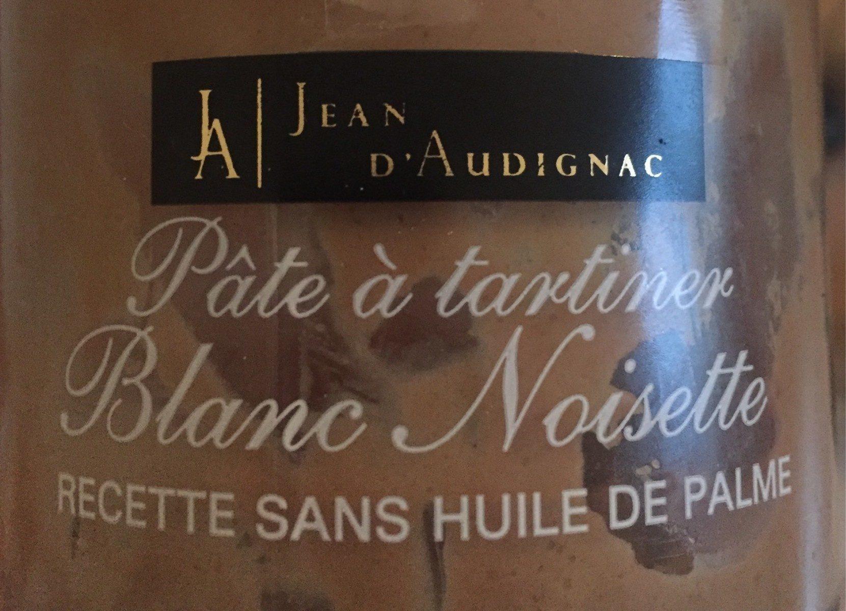 Pate a tartiner Blanc Noisette - Produit - fr