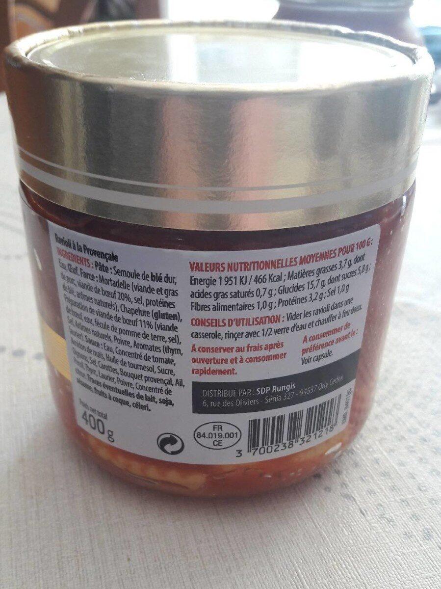 Ravioli à la provençale - Prodotto - fr