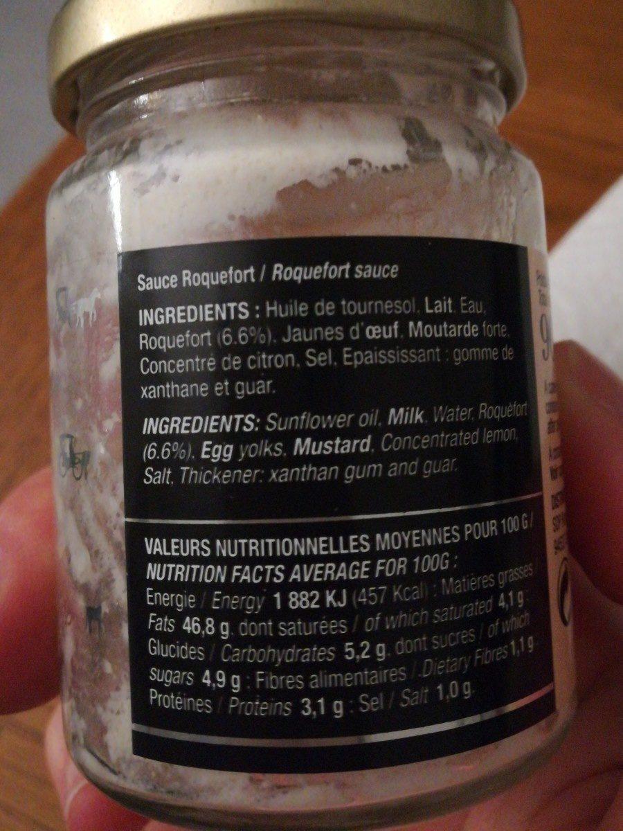 Sauce roquefort - Ingredienti - fr